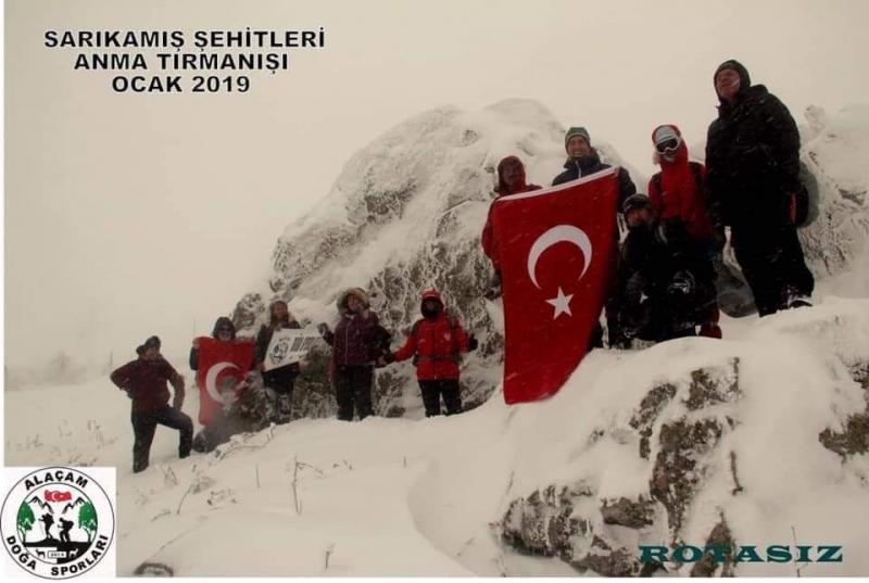 2019 SARIKAMIŞ ŞEHİTLERİ ANMA TIRMANIŞI