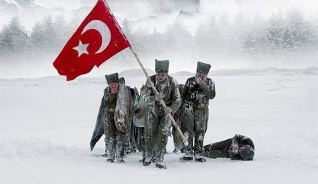 22 ARALIK 1914 SARIKAMIŞ HAREKATI'NIN YILDÖNÜMÜ