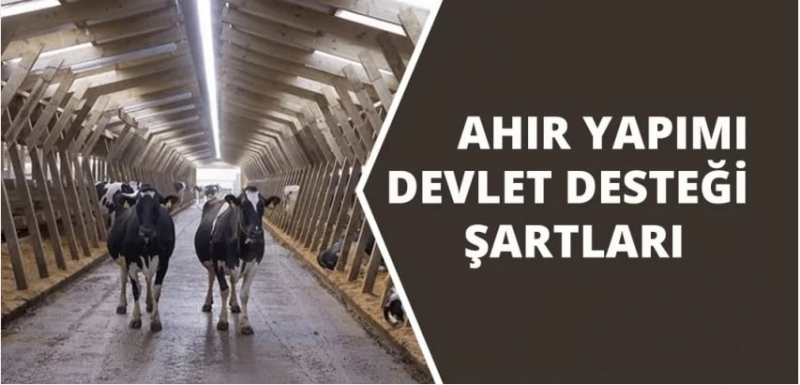 AHIR YAPIMINA DEVLET DESTEĞİ