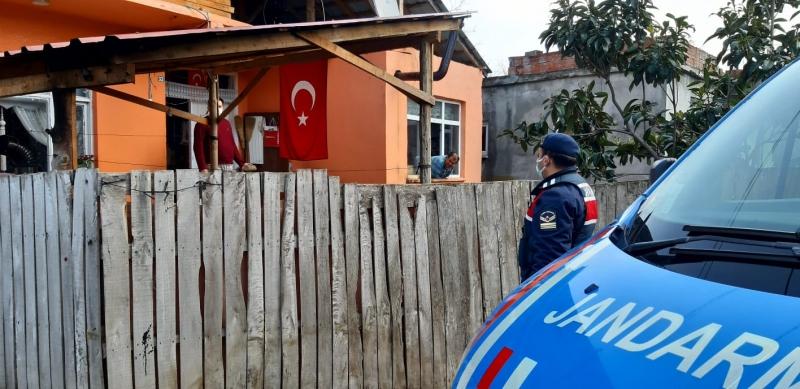 ALAÇAM JANDARMA'DAN ANONSLU DENETİM