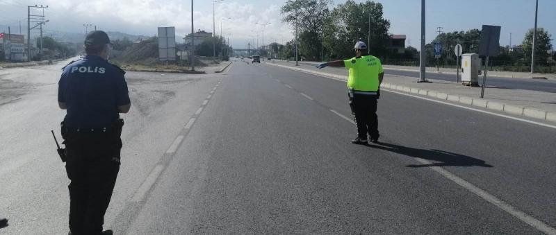 ALAÇAM POLİSİ DENETİMDE