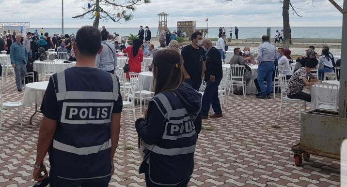 ALAÇAM POLİSİNDEN DÜĞÜNLERE DENETİM