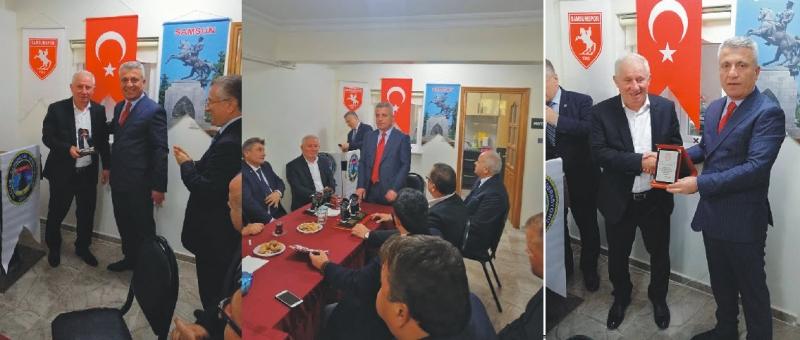 ALDEF'E DESTEK PLAKETİ