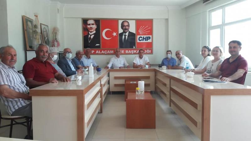 CHP TOKAT MİLLETVEKİLİ DURMAZ'DAN ALAÇAM ZİYARETİ