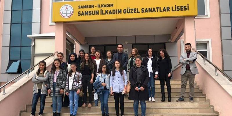 Karahüseyinli Ortaokulu Öğrencileri Samsun'da