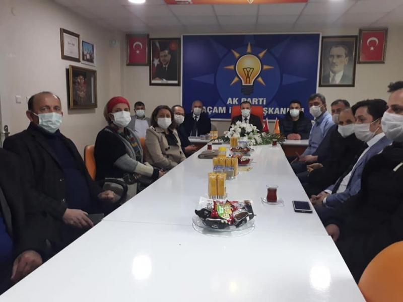 MHP'DEN AK PARTİ'YE ZİYARET