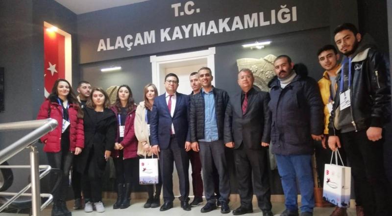 PTT - DER'DEN KAYMAKAM ZAMAN'A ZİYARET