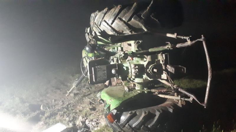 Traktör Kazası: 1 Ölü