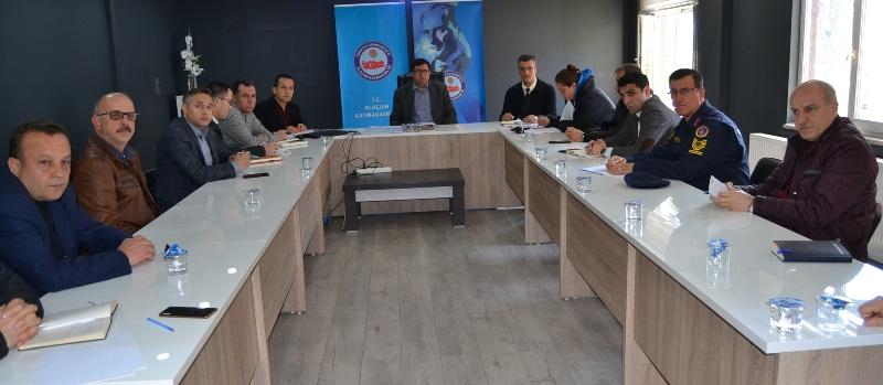 VEFA SOSYAL DESTEK GRUBU KOORDİNASYON TOPLANTISI YAPILDI