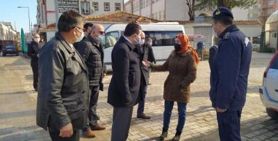 """ALAÇAM'DA """"HAFTALIK TEMATİK DENETİM"""" YAPILDI"""