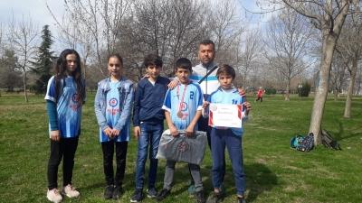 ATLETİZM'DE TAKIM HALİNDE İKİNCİ OLDULAR