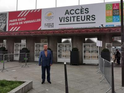 BAŞKAN BEDİR  FRANSA PARİS'TE BİTKİSEL ÜRETİM VE HAYVANCILIK FUARINA KATILDI