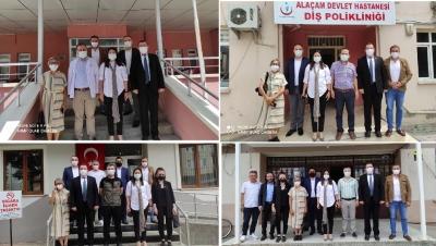 DEVA PARTİSİN'DEN KURUM ZİYARETLERİ