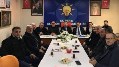 ESNAF ODASINDAN AK PARTİ'YE ZİYARET