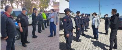 KAYMAKAM ZAMAN'DAN POLİS ve JANDARMAYA BAYRAM ZİYARETİ
