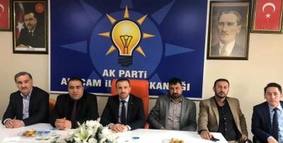 MHP'DEN AK PARTİYE ZİYARET