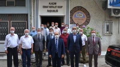 VALİ DAĞLI'DAN ESNAF ODASINA ZİYARET