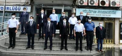 VALİ KAYMAK YAKAKENT'TE İNCELEMELERDE BULUNDU