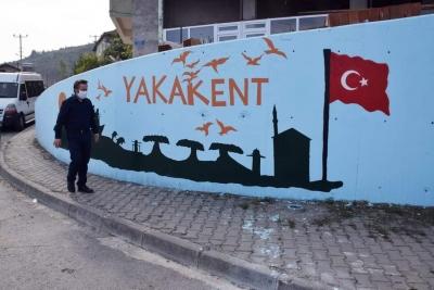 YAKAKENT'E ESTETİK GÖRÜNÜM